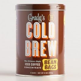 Grady's Cold Brew Bean Bag Can by World Market