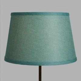 Aqua Linen Accent Lamp Shade: Blue/Green by World Market