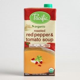 Pacific Soups Roasted Red Pepper and Tomato Soup Set of 2 by World Market