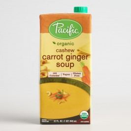 Pacific Soups Cashew Carrot and Ginger Soup Set of 2 by World Market