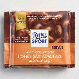 Ritter Sport Milk Chocolate Honey Salted Almonds Set of 11 by World Market