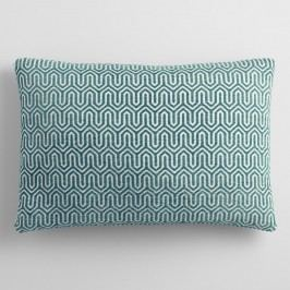 Midnight Blue Chenille Lumbar Pillow - Polyester by World Market