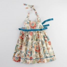 Blue Palampore Anika Apron - Cotton by World Market
