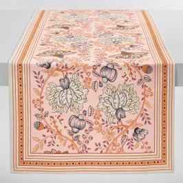 Aerin Floral Table Runner: Multi - Cotton by World Market