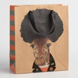 Medium Biker Giraffe Gift Bags Set of 2 by World Market