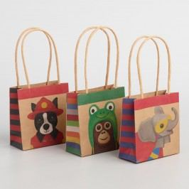 Mini Dressed Up Animals Gift Bags Set of 6 by World Market