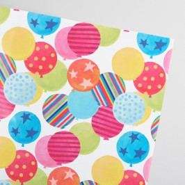 Birthday Balloons Kraft Wrapping Paper Roll by World Market