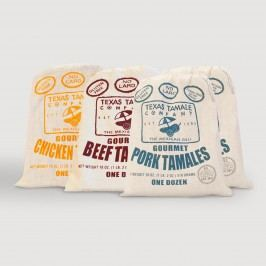 Texas Tamale Meat Lovers A La Carte Sampler 48 Count by World Market