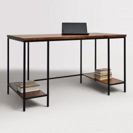 Wood and Metal Williard Extra Long Desk by World Market