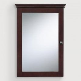Espresso Maryella Mirrored Medicine Cabinet: Brown by World Market