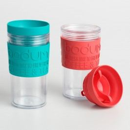 Bodum Travel Mugs Set of 2 by World Market