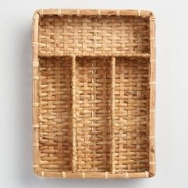 Rattan Flatware Caddy by World Market