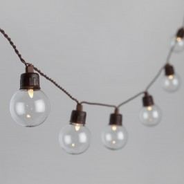 Clear Glass Solar LED 30 Bulb String Lights by World Market