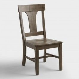 Rustic Wood Brinley Dining Chairs Set of 2: Brown by World Market