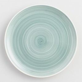 Aqua Spinwash Dinner Plates Set of 4: Blue by World Market