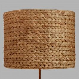 Woven Water Hyacinth Drum Table Lamp Shade: Natural - Natural Fiber by World Market