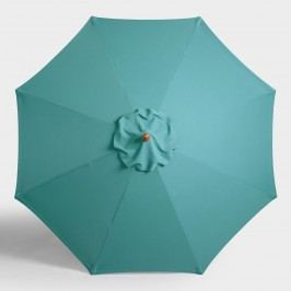 Teal 9 Ft Umbrella Canopy: Blue by World Market