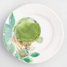 Jungle Fruit Salad Plates Set of 4 by World Market