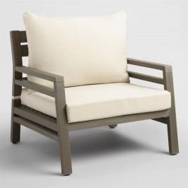 Gray San Sebastian Outdoor Patio Occasional Chair by World Market