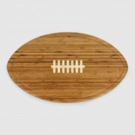 Bamboo Football Kickoff Cheese Board: Natural by World Market