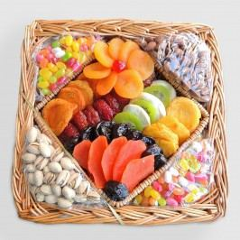 Dried Fruit and Nuts Gift Basket by World Market