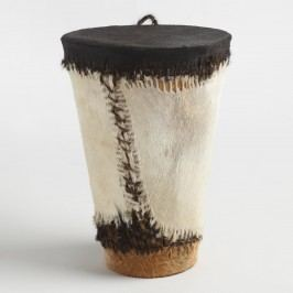 Black and White Abaluhya Drum by World Market