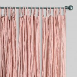 Blush Cotton Crinkle Voile Curtains Set of 2: Pink by World Market