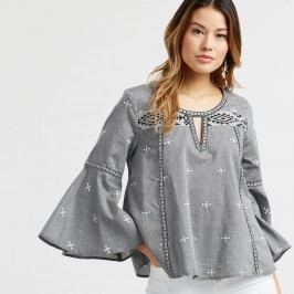 Embroidered Chambray Mica Top - Smmd by World Market Smmd
