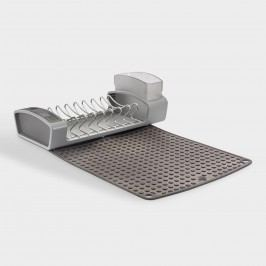 Fold Away Dish Rack: Gray by World Market