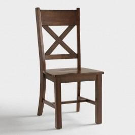 Mahogany Verona Side Chairs, Set of 2: Brown - Wood by World Market
