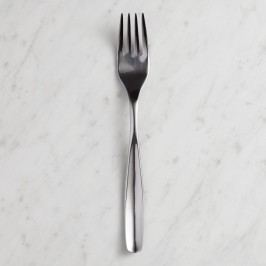Luna Dinner Forks Set of 4: Silver - Stainless Steel by World Market
