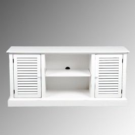 White Plantation Storage Cabinet - Wood by World Market