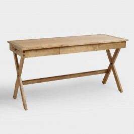 Campaign Desk: Brown - Wood by World Market