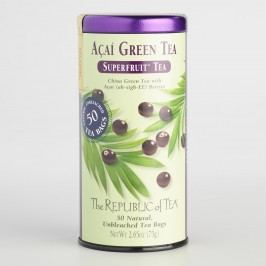 The Republic of Tea Acai Green Tea, 50-Count by World Market