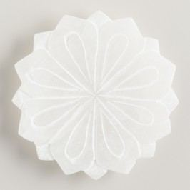 Alabaster Lotus Soap Dish - Stone by World Market