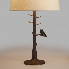 Woodlands Table Lamp Base: Brown - Metal  by World Market