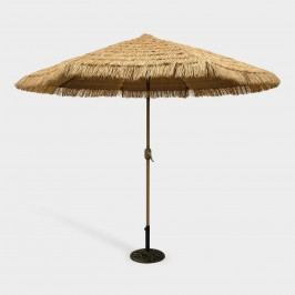 9-ft. Thatched Market Umbrella - Fabric by World Market