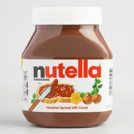 Large Nutella Hazelnut Spread by World Market