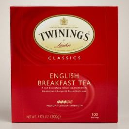 Twinings English Breakfast Tea, 100-Count by World Market