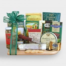 Cheeseboard Complete Ultimate Gift Basket by World Market