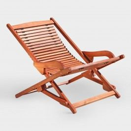 Patio Folding Chaise Lounge by World Market