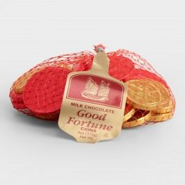 Steenland Mesh Bag of Good Fortune Candy, Set of 6 by World Market