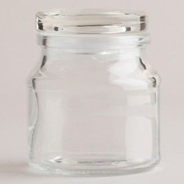 Round Spice Jars with Lids, Set of 6 by World Market