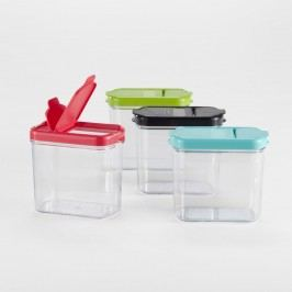 Plastic Mini Keepers Storage Containers, Set of 4: Multi by World Market