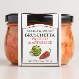 Cucina & Amore Piquillo Pepper Bruschetta, Set of 6 by World Market