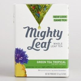 Mighty Leaf Tropical Green Tea, 15-Count by World Market