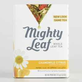 Mighty Leaf Chamomile Citrus Tea, 15-Count by World Market