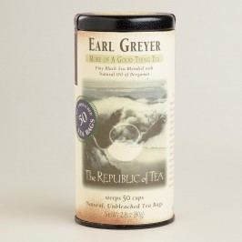The Republic of Tea Earl Greyer Tea, 50-Count by World Market