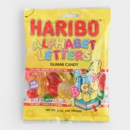 Haribo Alphabet Letters, Set of 12 by World Market