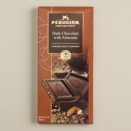 Perugina Dark Chocolate with Almonds Bar, Set of 2 by World Market